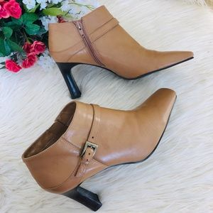 "Bandolino ""Crosby"" Women's Ankle Bootie Heels"